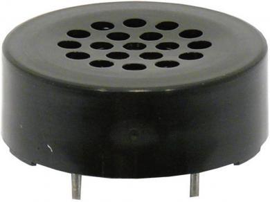 Difuzor miniatură 2,3 cm, tip K 23 PC, 73 dB, 1740 Hz, 0,2 W