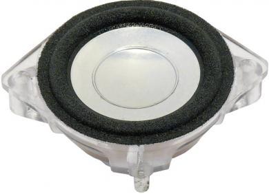 Difuzor de bandă largă 4,5 cm, tip BF 45, 79 dB, 158 Hz, 4 W