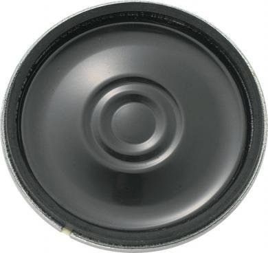 Difuzor miniatură Kepo, seria KP, 92 dB ± 3 dB, 8 Ω, 0,7 W, 650 Hz ± 20 %