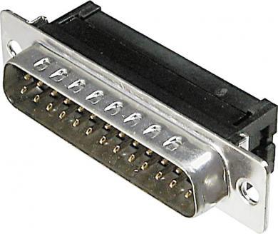Conector D-SUB tată, 25 pini, pentru cablu panglică, A-DSF 25 LPIII/Z Assmann