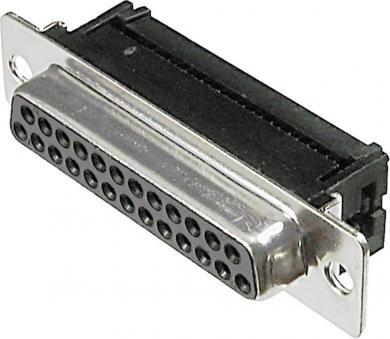 Conector D-SUB mamă, 37 pini, pentru cablu panglică, A-DFF 37LPIII/Z Assmann