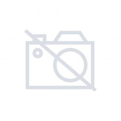 Inel cu filet ALPS, negru, adecvat pentru buton cu Ø 15,5 mm