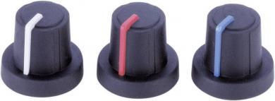 Buton soft-touch PB Fastener 3/03/TPN 130006, Ø ax 6 mm, cu indicator şi capac integrate