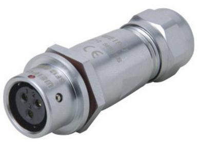 Conector tată push-pull, 4 pini, 5 A, Weipu SF1210/P4 I