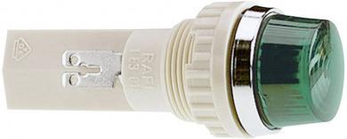 Lentilă pentru lampă semnalizare RAFI (cod produs 720109), galben (transparent)