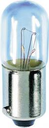 Mini-bec tubular, soclu BA9s, 12 V, 1.2 W, 10 x 28 mm