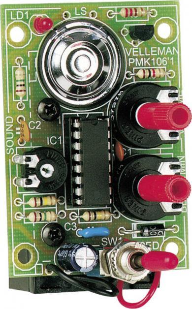 Metronom, kit asamblare, 9 V