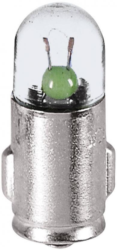 Bec de control Barthelme, soclu BA7s, 28 V, 6,8 x 20 mm
