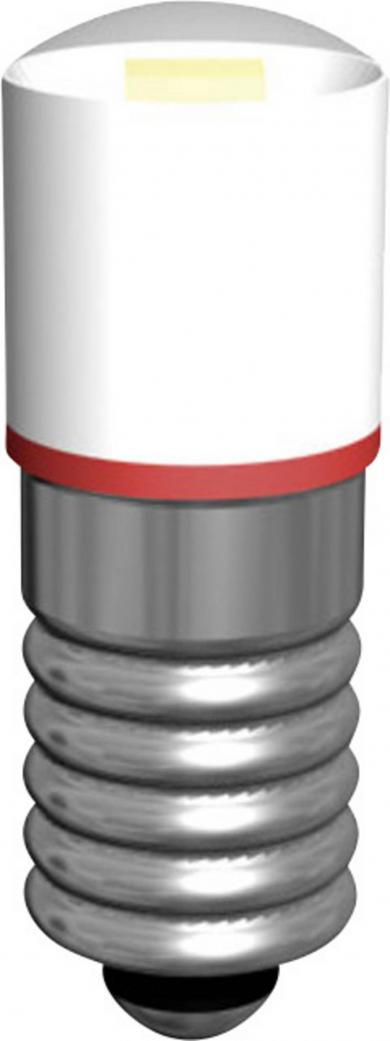 Lampă cu led Multi-Look cu soclu E5,5 Signal Construct MWCE5563, alb