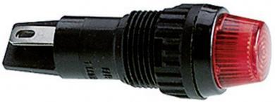 Lentilă pentru lampă semnalizare RAFI (cod produs 725833), galben (transparent)