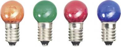 Beculeţe cu led E10 52212412, 24 V/DC, galben