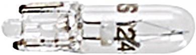 Bec incandescent pentru lampă de semnalizare, incolor, soclu W2 x 4,6 d, 12 V
