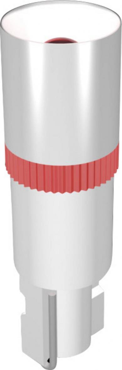 Lampă cu led cu luminozitate mare Signal Construct MEDW4602, roșu