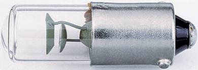 Lampă cu luminiscenţă Barthelme, BA9s, 4 W, transparent
