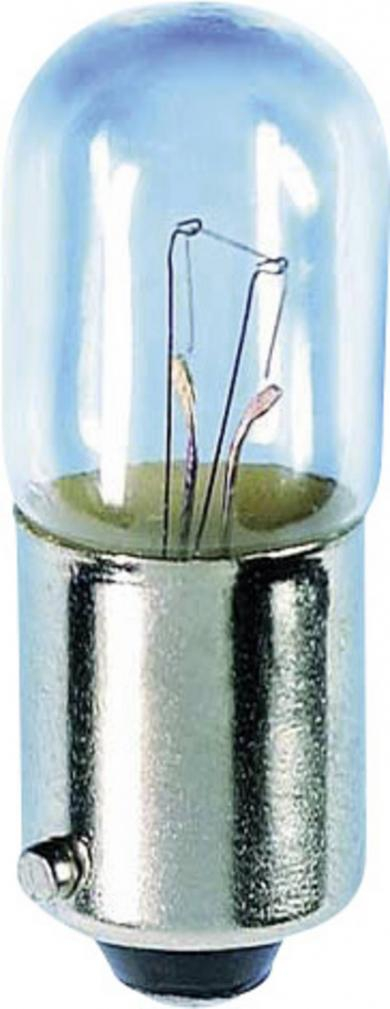 Mini-bec tubular, soclu BA9s, 30 V, 2 W, 10 x 28 mm