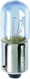 Mini-bec tubular, soclu BA9s, 130 V, 2.6 W, 10 x 28 mm