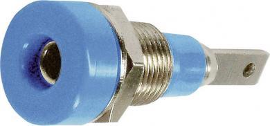 Soclu banană pentru montare MultiContact LB-I2R, albastru