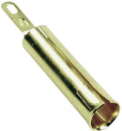 Conector pentru montare MultiContact LB4 AU, Ø știft 4 mm, auriu