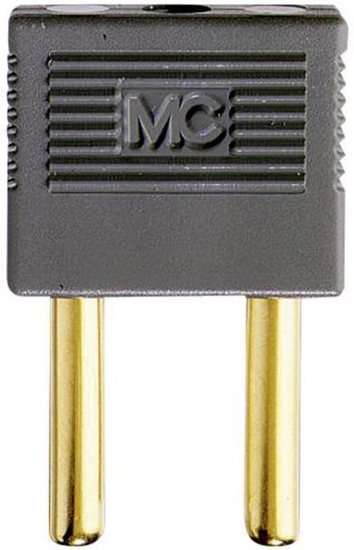 Fişă de conexiune MultiContact KS4-14, tip EK-400, cupru aurit, gri
