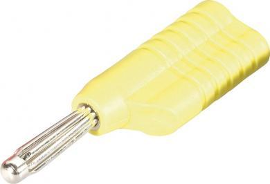 Mufă banană Schnepp S 4041 L, Ø știft 4 mm, galben