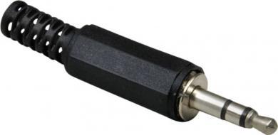 Jack 3,5 mm, mufă tată, stereo, drept, 1107003 BKL Electronic