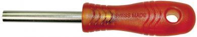 Cheie tubulară MultiContact SS2-S, roșu, argintiu