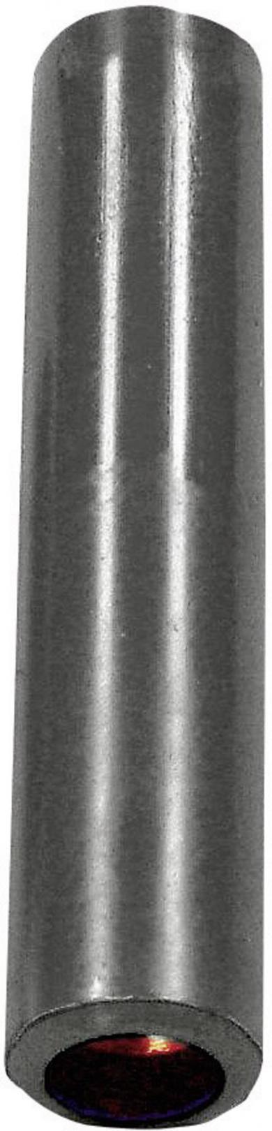 Mufă banană mamă Hirschmann KK4/4, 32 A, 4 mm, negru