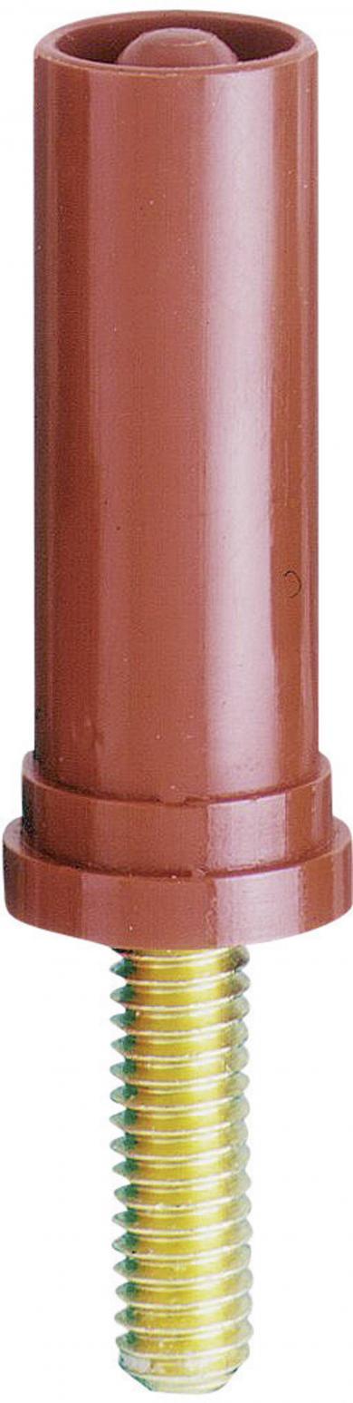Adaptor pentru înşurubare cu filet M4 MultiContact SA400-VI, Ø 4 mm, roșu