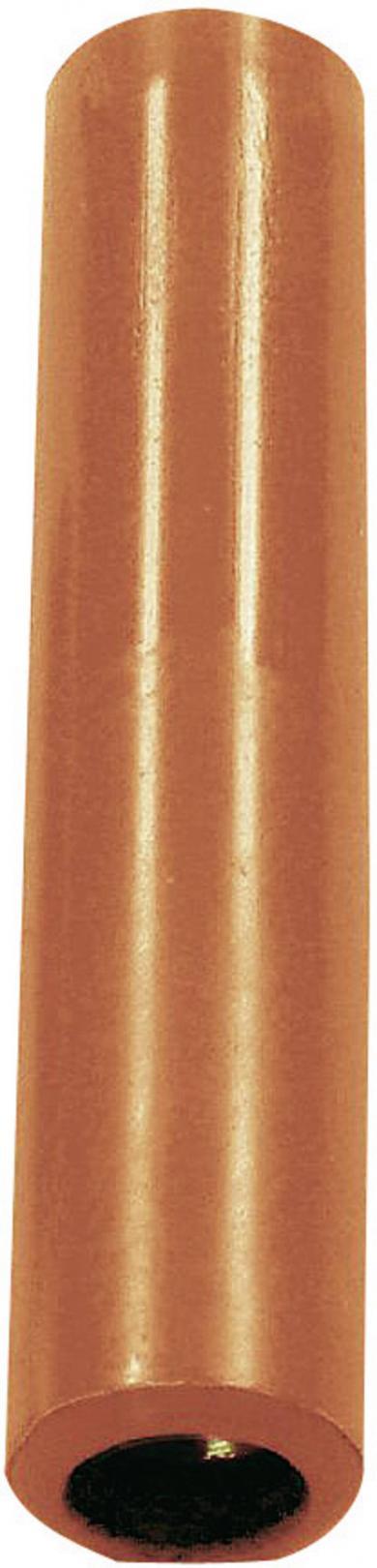 Mufă banană mamă Hirschmann KK4/4, 32 A, 4 mm, roşu