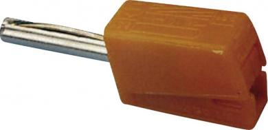Conector rapid seria 215, Ø ştift 4 mm, WAGO 215-211, portocaliu