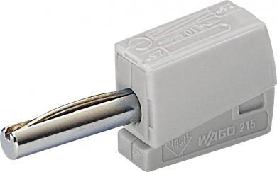 Conector rapid seria 215, Ø ştift 4 mm, WAGO 215-811, gri