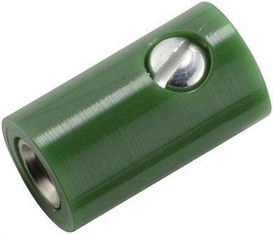 Conector miniatură Ø 2,6 mm, versiune conector, verde