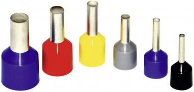 Inel de etanşare cu guler din plastic, 6 mm² x 12 mm, galben, Vogt Verbindungstechnik