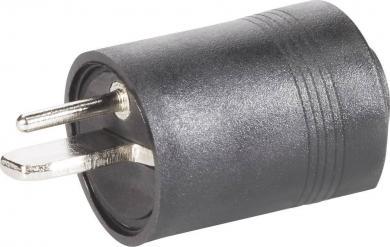 Conector tată difuzoare, drept, înşurubare, 205003 BKL Electronic