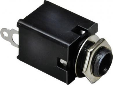 Jack 6,35 mm, soclu mamă, mono (izolat), pentru montare, 1109030 BKL Electronic