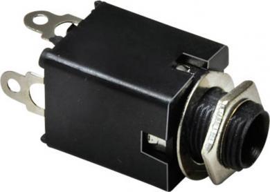 Jack 6,35 mm, soclu mamă, stereo, pentru montare, 1109034 BKL Electronic