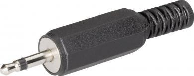 Jack 2,5 mm, mufă tată, mono, drept, 72117 BKL Electronic