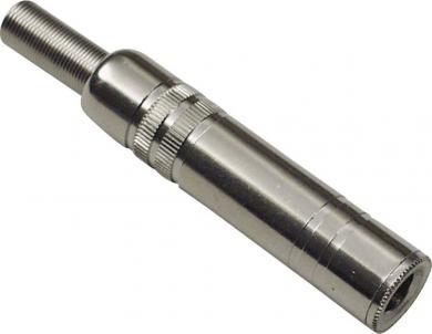 Conector jack 6,35 mm, mufă mamă, mono, drept, 1108005 BKL Electronic