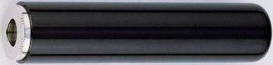 Conector jack 6,35 mm, mufă mamă, stereo, drept