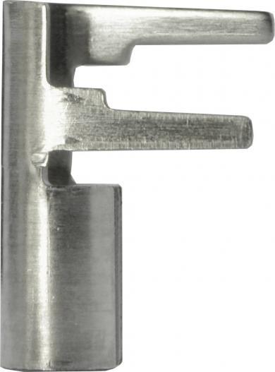 Soclu pentru circuit imprimat Vogt Verbindungstechnik tip 1343.70 argintiu