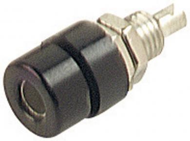 Conector pentru montare SKS Hirschmann BIL 30, Ø știft 4 mm, negru