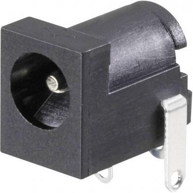 Soclu mamă alimentare 34 V/DC 3 A, 4.2 mm, montare PCB, contact de comutare