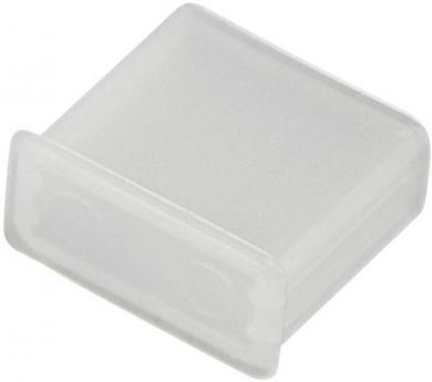 Capac universal USB, transparent, protecţie împotriva prafului