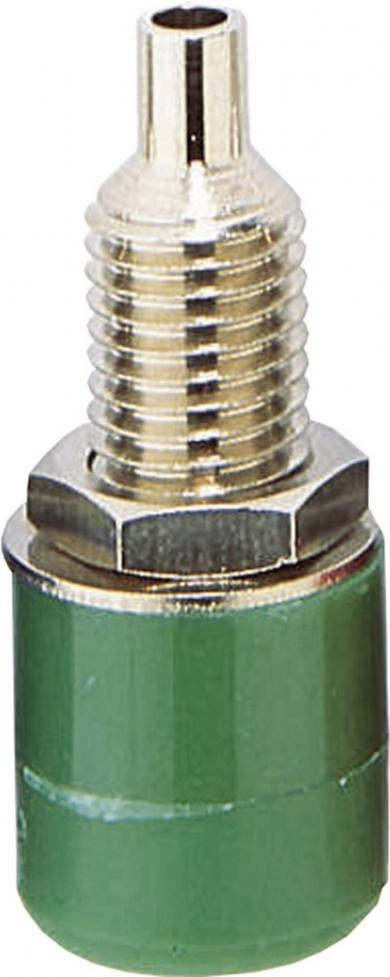 Soclu izolat BKL Electronic 72309, verde