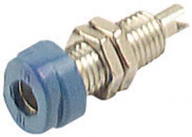 Soclu pentru montare SKS Hirschmann BUG 10, Ø știft 4 mm, albastru