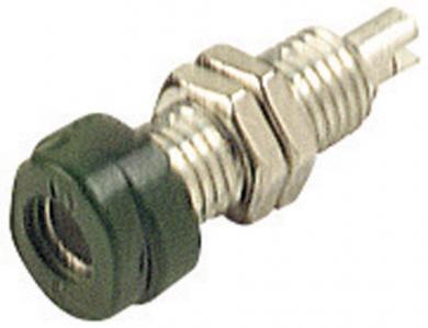 Soclu pentru montare SKS Hirschmann BUG 10, Ø știft 4 mm, verde