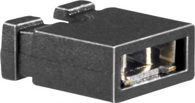 Jumper 10120190 BKL Electronic, pas pini 2.5/2.54 mm, negru