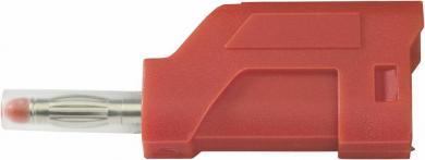 Conector cu lamelă, SCI, 4 mm, roșu