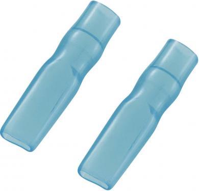 Manşon de izolare din PVC moale pentru papuci polaţi neizolaţi 2,8 mm, albastru