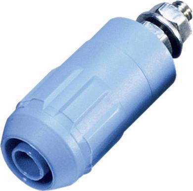 Mufă Ø 4 mm, albastru, MultiContact XUB-G